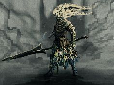Sharing todays fanart of the Nameless King (second phase).