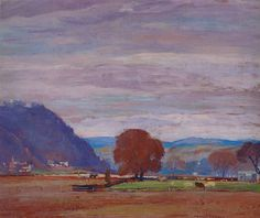 Up the Valley by Daniel Garber, 1941