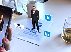 Augmented Reality Pro-Visual Publishing business card