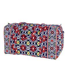 Sun Valley Large Duffel Bag by Vera Bradley  zulily  zulilyfinds Ron Jon  Surf Shop 5704c0f7df7e3