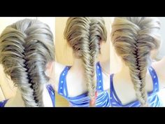How to : French Fishtail Braid for Beginners | Braidsandstyles12 - YouTube