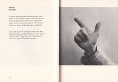The Fine Art of Italian Hand Gestures: A Vintage Visual Dictionary by Bruno Munari | Brain Pickings