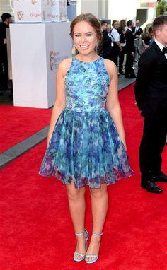 Silky Florals & Killer Heels at the BAFTAs | Tanya Burr