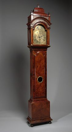 Hall clock, early 18th century. Amsterdam Museum, CC BY