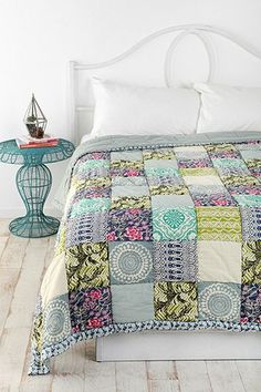 Magical Thinking Bali Patchwork Quilt by Urban Outfitters