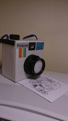 C mo hacer una c mara de carton para ni os ideas de - Camaras de fotos infantiles ...
