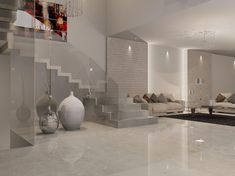 Risultati immagini per porcelanosa contour beige Small Apartment Interior, Interior Design Living Room, Interior Decorating, Room Tiles, Living Room Flooring, Marble Floor, Open Plan Living, Home And Living, Home Furniture