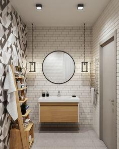 Ванная комната в стиле светлый лофт