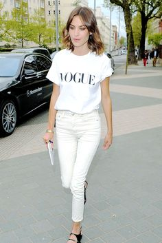 Alexa Chung leaves Vogue Festival in Kensington on April 25,... (via Bloglovin.com )