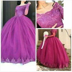 Burgundy%20Lace%20Long%20Sleeve%20Wedding%20Dresses%20Scoop%20Neck%20Applique%20Tulle%20Puffy%20Ball%20Gown%20Wedding%20Dress%20Lace%20Bridal%20Gowns%20Plus%20Size%20Online%20with%20%24162.82%2FPiece%20on%20Butterfly888's%20Store%20%7C%20DHgate.com