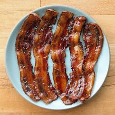 Beer-Glazed Bacon — Because Sometimes More Really Is More: If you've ever had millionaire's bacon —essentially candied bacon — you know that bacon can, as crazy as it seems, actually be improved upon.