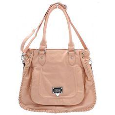 Large Shoulder Handbag Rose Pink