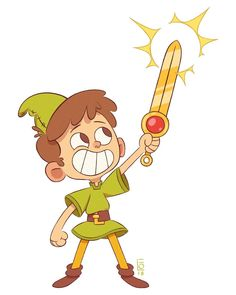Level up!:D - #characterdesign #character #cartoon #animation #drawing #illustration #boy #adventure #explore #sword #kidlit #kidlitart #childrensbooks #art #artist #levelup