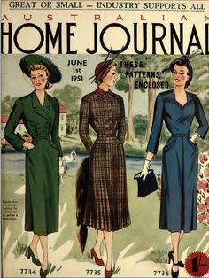 The   Vintage   Pattern   Files: Australian Home Journal 1st June 1951