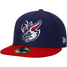 d26536a8ea6 Round Rock Express New Era Authentic Collection On-Field 59FIFTY Fitted Hat  - Navy Red