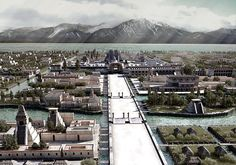 hallo   das bild zeigt eine sehr freie rekonstruktion der azteken hauptstadt…