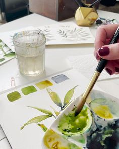 Watercolor Art Lessons, Watercolor Artists, Watercolor Design, Watercolor Techniques, Painting Techniques, Watercolour Painting, Watercolors, Learn Art, Learn To Paint