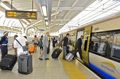 Getting around – South African Tourism Gauteng - Gautrain Station in Pretoria. Gma Shows, Environmental Impact Assessment, University Of Toronto, Pretoria, Slums, Urban Planning, Public Transport, Republic Of The Congo, The Expanse