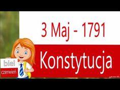 Konstytucja 3 Maja w pigułce podana - (odc. Poland, Psychology, Crafts For Kids, Film, Youtube, Therapy, Historia, Psicologia