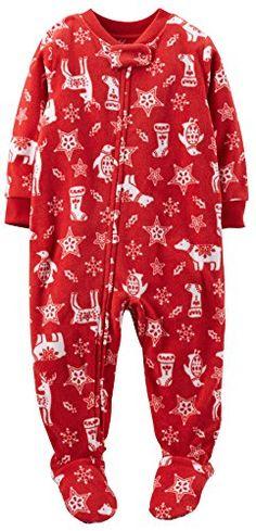 Carter's Baby Boy/Girl Footed Fleece Christmas Sleeper Pajamas PJs (18 Months) Carter's http://www.amazon.com/dp/B00N6XRDXU/ref=cm_sw_r_pi_dp_I.Sxub1VMG6MK