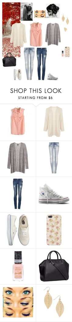 """""""Untitled #54"""" by tharciliaa ❤ liked on Polyvore featuring Warehouse, H&M, Pull&Bear, Converse, Vans, River Island, women's clothing, women, female and woman"""