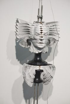 Soul-Searching Book Sculptures - South Africa-based artist Wim Botha. The artist creates sculpture installations out of government and religious texts, reflecting on the human condition.