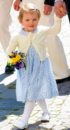 Princess Estelle. I adore this little girl. May 2014.