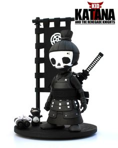 Mini Kid Katana By 2Petalrose Worldwide Release | The Toy Chronicle