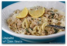 Linguini with White Clam Sauce to Die for