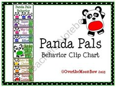 This fun, panda themed behavior chart fits in well with the 'green–yellow–red' behavior system used in many schools, yet provides positive recognition for students who go above & beyond. Behavior Management System, Behavior System, Classroom Management, Kindergarten Classroom, Classroom Themes, Classroom Organization, Classroom Environment, Behavior Clip Charts, Behaviour Chart
