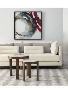 Inspired by Welsh culture and craft, designer Bethan Gray lines plush wool rug in a spindle motif that feels both graphic and elegant.  Shades of undyed, handtufted wool creates a tonal look in a beautiful neutral palette to compliment any room. Order rugs (up to 6'x9') on-line and pickup in a store near you.  It's fast, easy and free.  Choose the Store Pickup option at Check Out.  Learn More. For 8'x10' and larger rugs, an associate can arrange a convenient warehouse pick-up or delivery.