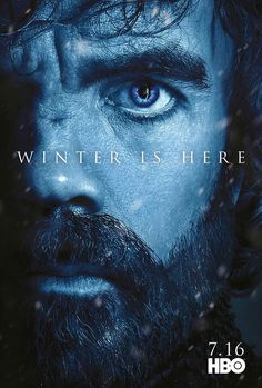 #WinterIsHere- Tyrion Lannister promo poster