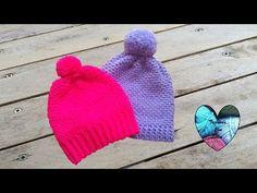 Bonnet homme torsades tricot / Beanie for man easy knit Lidia Crochet Tricot, Puff Stitch Crochet, Crochet Christmas Hats, Knitted Hats, Crochet Hats, Bonnet Crochet, Tapestry Crochet, Loom Knitting, Crochet For Kids