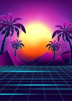 Steam Atölyesi :: Neon Sunset | Neon backgrounds ...