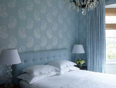 Lovely bedroom from Cameron Kimber.