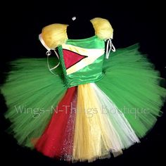 GUYANA PAGEANT DRESS, Custom Flag Orders available, Costume, Tutu, Flag, Toddler, Girls, Kids, Green, Yellow, Red, Black, Princess by wingsnthings13. Explore more products on http://wingsnthings13.etsy.com