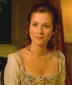 Triss was the daughter of a seamstress and the master blacksmith to The Lord of Adele, Haymish's father. She meet and fell in love with Haymish while she was his younger sister's tutor. Anna Friel