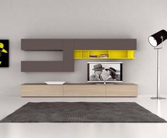 novamobili tv lowboard b 300 cm tvs and design. Black Bedroom Furniture Sets. Home Design Ideas