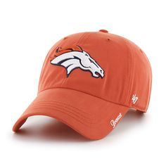 877528ec843c21 Denver Broncos Miata Clean Up Orange 47 Brand Womens Hat. Denver Broncos  HatsDetroit GameClean ...