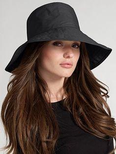 Helen Kaminski - Enu Wide-Brim Rain Hat d5f5433574f
