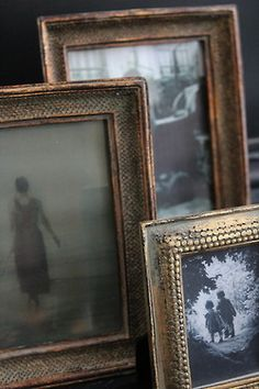 Vintage photo frames Repinned by www.silver-and-grey.com