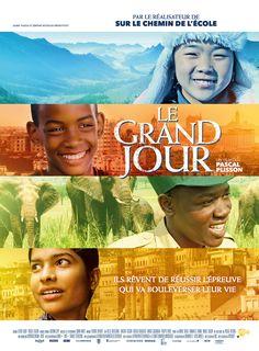 Le Grand Jour est un film de Pascal Plisson avec . Synopsis : Aux quatre coins du monde, de jeunes garçons et filles se lancent un défi : aller au bout de leur rêve, de leur passion et réussir l'épreuve qui va bo