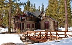 Architecture: Mountain Cabin House Floor Plans With Rustic Farmhouse Plans With Rustic Home Design Plans: Principles for Making Rustic Mountain House Plans Rustic Home Design, Home Design Plans, Rustic Homes, Cabin Homes, Log Homes, Farmhouse Plans, Rustic Farmhouse, Cabins And Cottages, Log Cabins