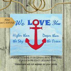 Nautical Quotes, Nautical Anchor, Nautical Nursery, Nautical Theme, Anchor Wall Art, Nursery Quotes, Boys Room Decor, Baby Boy Nurseries, Nursery Themes