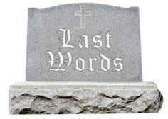 tombstone epitaphs