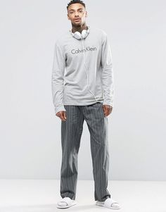 Shop Calvin Klein Pajamas Set Gift Box at ASOS. Calvin Klein Pyjamas, Mens Sleepwear, Pajama Set, Fashion Online, Asos, Lounge, Gifts, Shopping, Airport Lounge