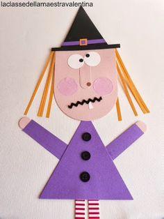Fantasmini e streghette saranno i protagonisti della mia classe nel periodo di Halloween. Tra i fantasmini e le streghette ...