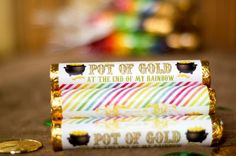 """Creative Party Ideas by Cheryl: """"Pot of Gold"""" Rolos for St. Patty's Day!"""