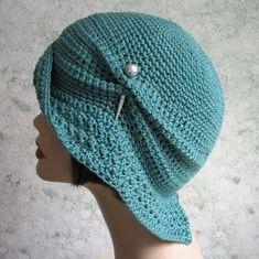 Женская шлема вязания крючком шаблон Хлопушки Клош С помощью kalliedesigns