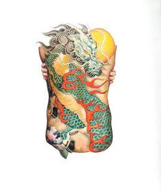 ilustração de corpos tatuados!